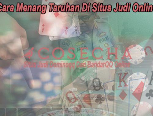 Situs Judi Online Cara Menang Taruhan - CoseChacocina